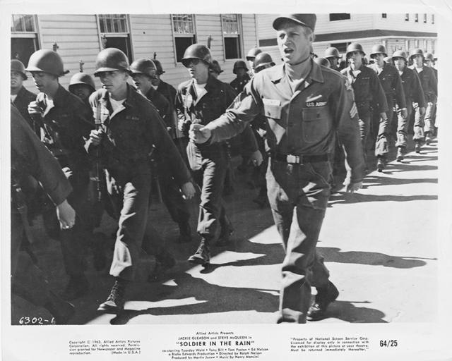 Image of Steve McQueen from the National Personnel Records Center (Archival Operations Branch) (NRPAO), Persons of Exceptional Prominence, McQueen, Steven Personnel Record.