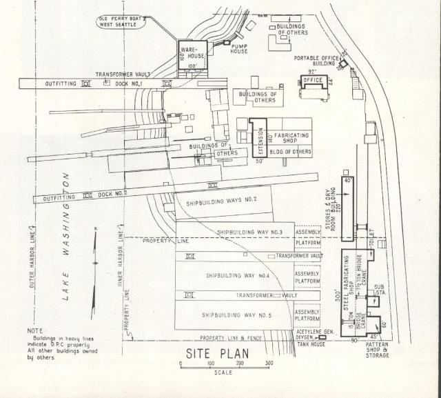 Washington Shipyard Site Plan