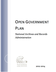 NARA Open Gov Plan #2