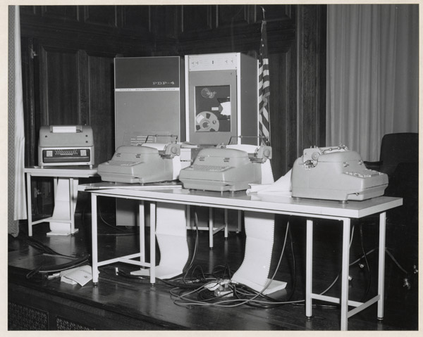Digital Equipment Machines, 1964