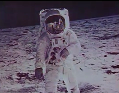 "Images taken from the NASA-created film ""The Time of Apollo"", obtained by DPLA from NARA"